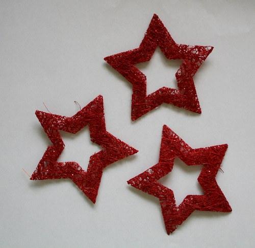 Hvězda sisalová červená