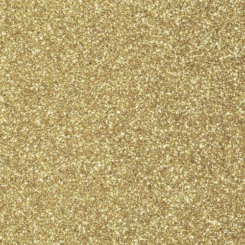 Pěnová guma Moosgummi 20x30cm GLITRY - zlatá