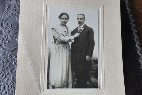 S mužem...stará fotografie