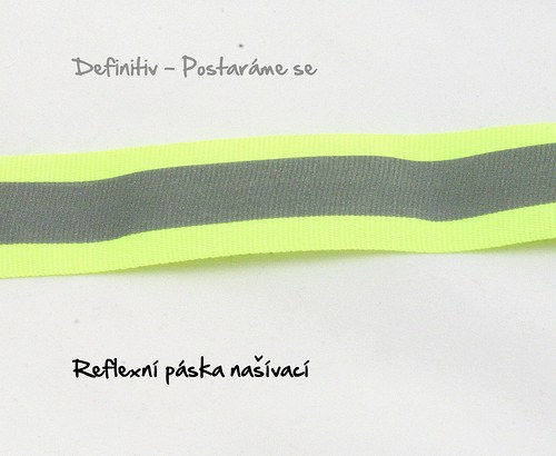 Reflexní páska našívací 30 mm