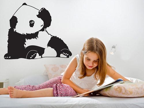 Panda - nálepka na stěnu
