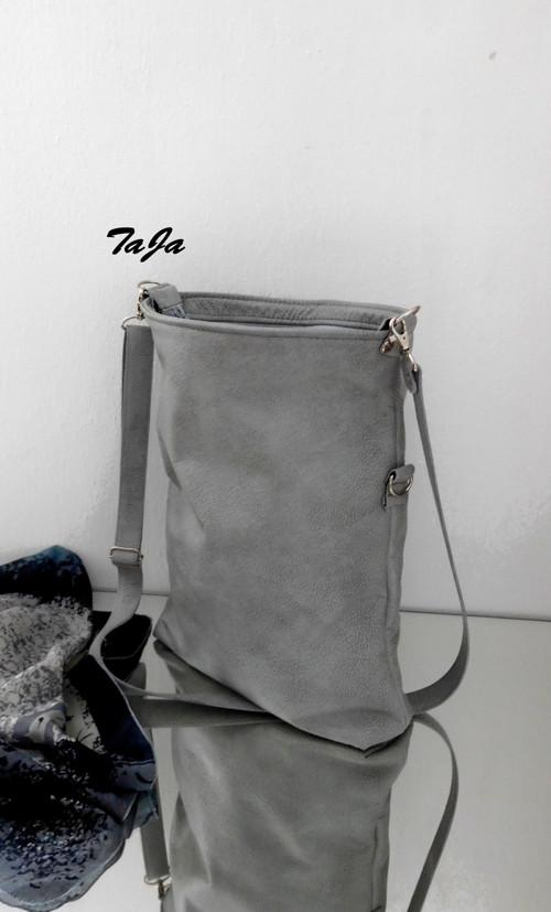 Messenger  -šedá s patinou -simple