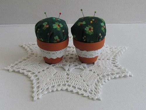 Jehelníček Kaktus  pro malé šití,nebo pro ozdobu