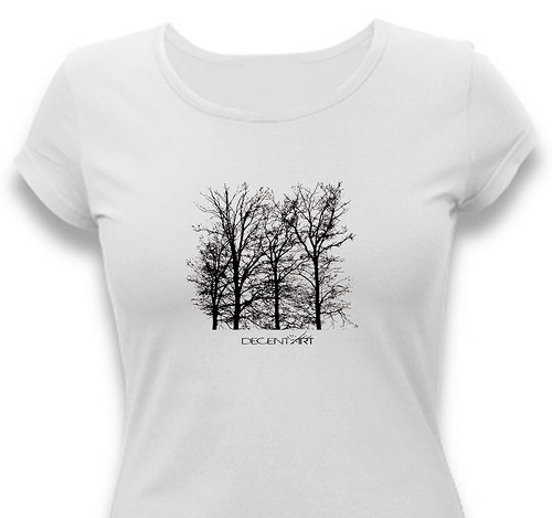 Dámské tričko ,,Stromy´´