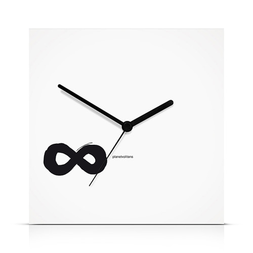 Infinity Simple White (22 x 22 cm)