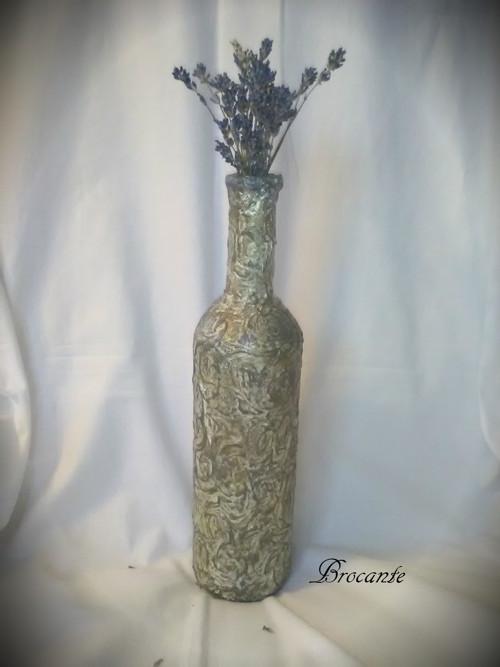 váza 1 - šedozlatá