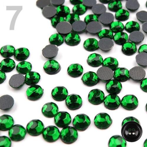 Šatonové růže HOT-FIX 5,8mm (1g,B) - emerald