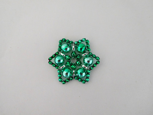 Zelená vánoční hvězda