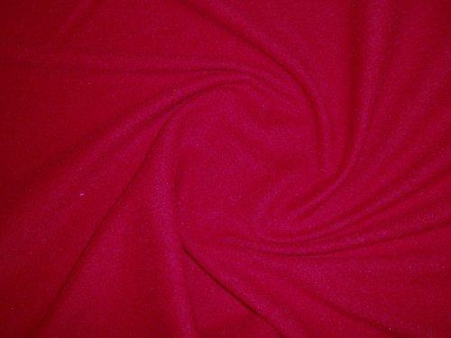 19111-B10 Látka fleece červený á 1m