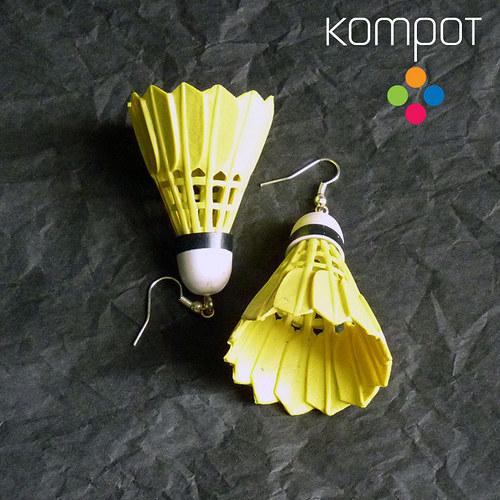 BADMINTON :: žlutý (chir. ocel)
