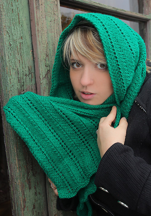 Smaragdová - šála