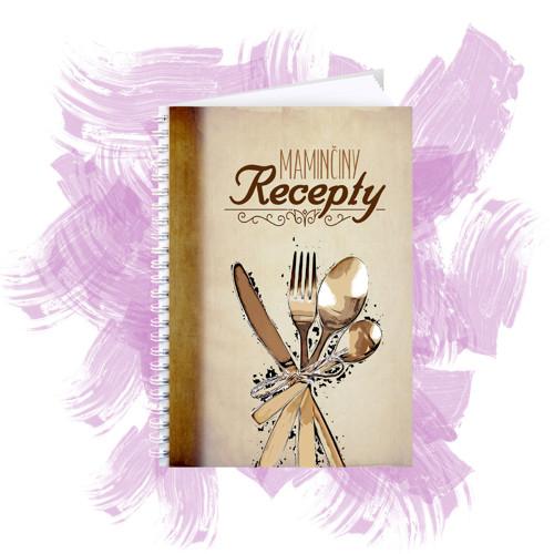 Zápisník na recepty - maminčiny