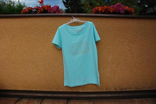 Tričko s ekologickým potiskem