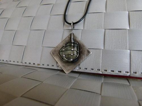 Kosočtvercový - náhrdelník