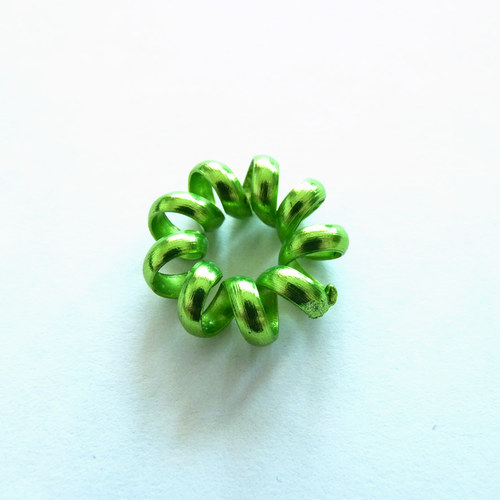 kov - zelená spirála 1 ks