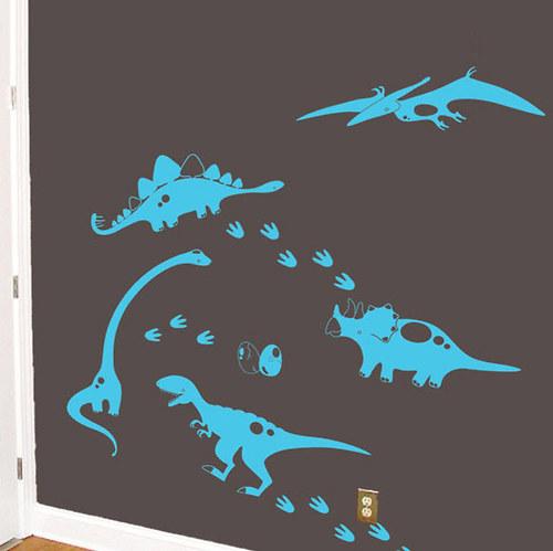 Dinosauři jednobarevní