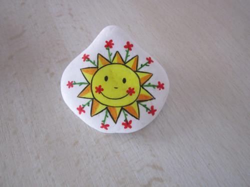 Malované sluníčko