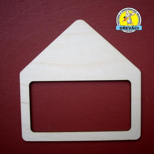 Domek s průřezem 12 x 12 cm....  KV0289
