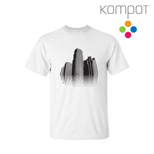 Pánské tričko MĚSTO :: bílé (S - 2XL)