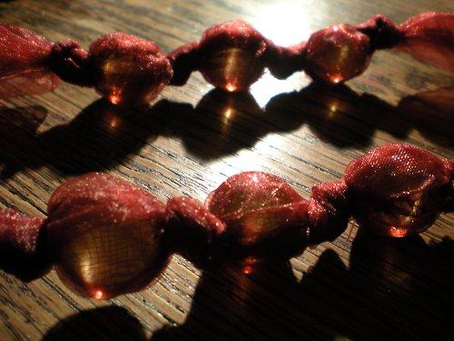 vínový náhrdelník