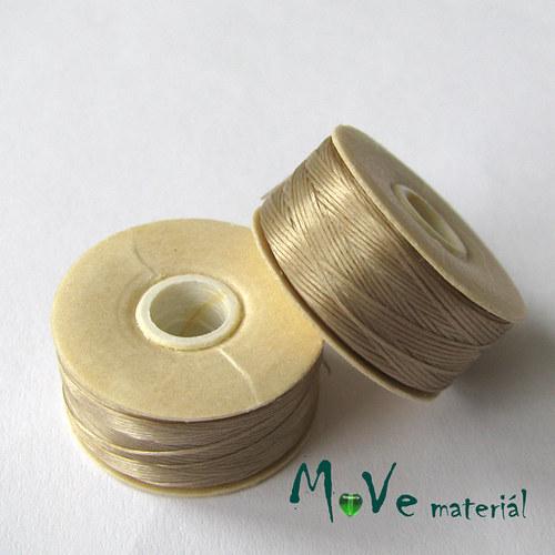 NYMO niť 0,3mm/1ks, šedobéžová