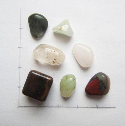 Sada tromlovaných minerálů