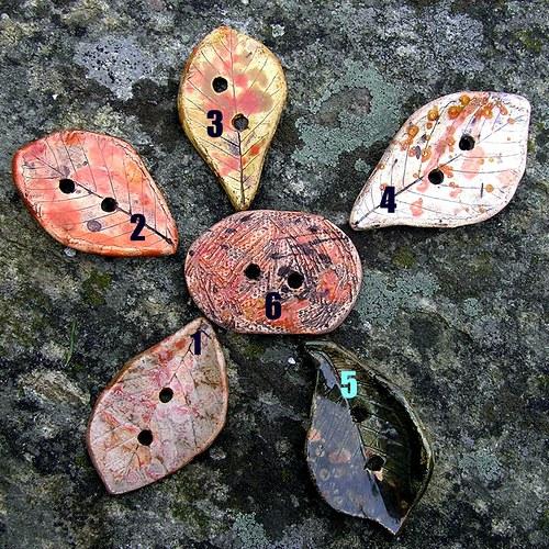 keramické knoflíky