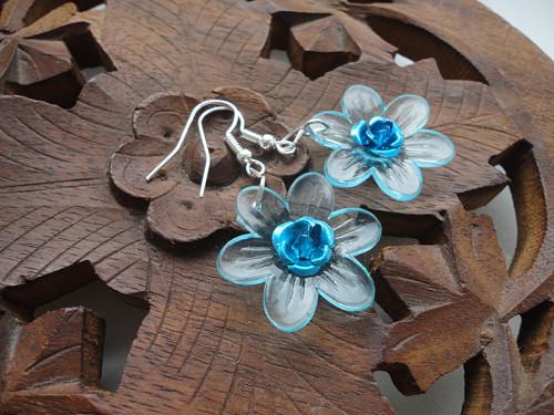 Květy světle modré