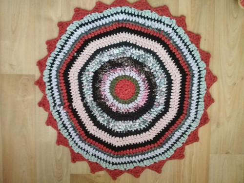 háčkovaný kobereček