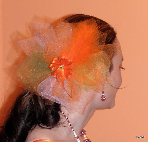 Oranžová do vlasů