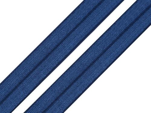 Lemovací pruženka půlená 19mm - nám.modrá