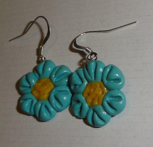 Modré květinky