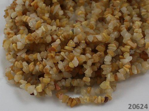 20624-90 Přírodní ARAGONIT chipsy návlek 90cm!