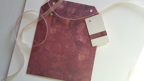 Plastický vzor  -  obal na CD 13x14 cm