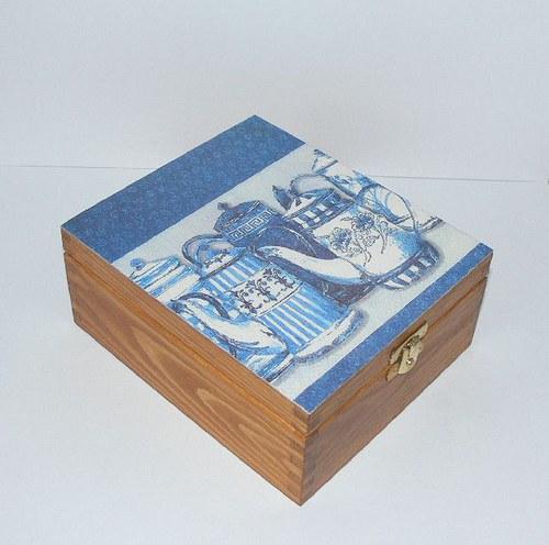Krabička konvičková na čaj