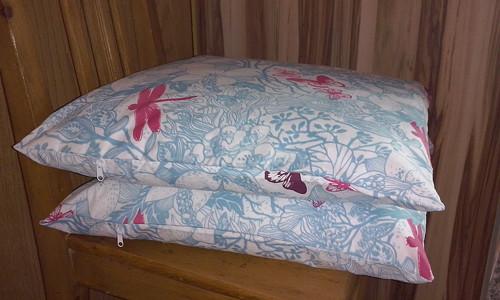 Povlak na polštář Vážka a motýl