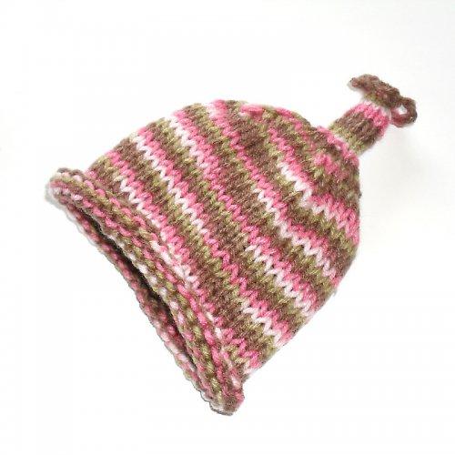 Pletená čepička z jemné vlny