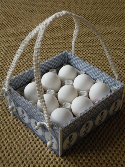 Stojan na dochucovadla/košík na 9 vajec-Holandsko