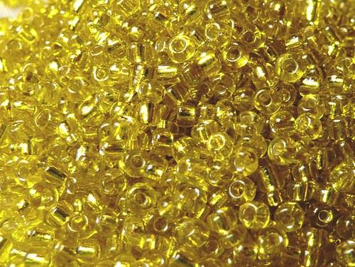 Rocail / Rokajl / Rokail - 2 mm - 30 g - žlutá