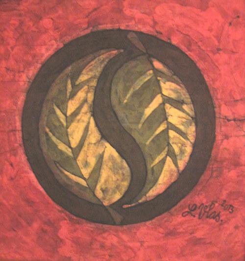 """Mandala \""""Dva listy\"""" II."""