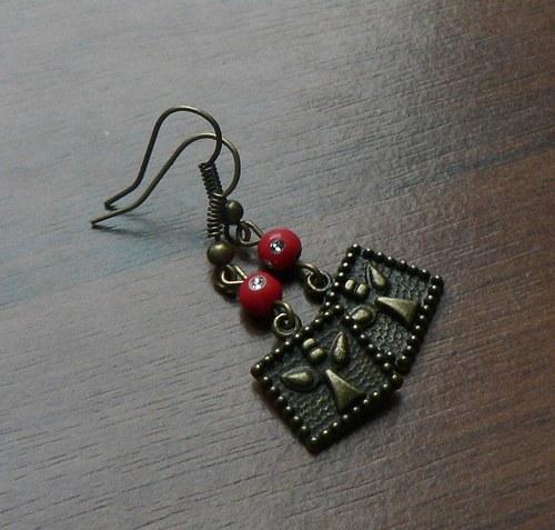 Vánoční náušnice - Made for an Angel