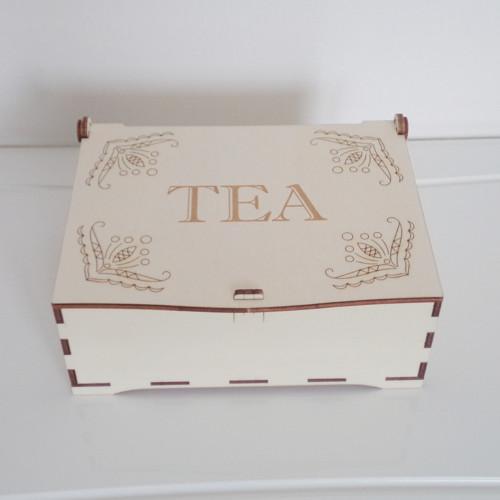 Kazeta na čajové sáčky - 9 komor