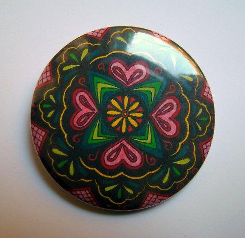MANDALA 14 - placka - button - 44 mm