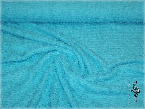 Modrá pletenina-cena za 1bm