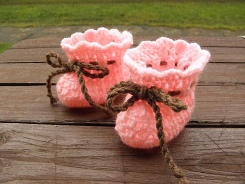 bačkorky růžové