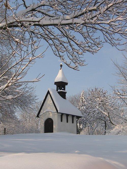 Vzpomínka na zimu - u nás