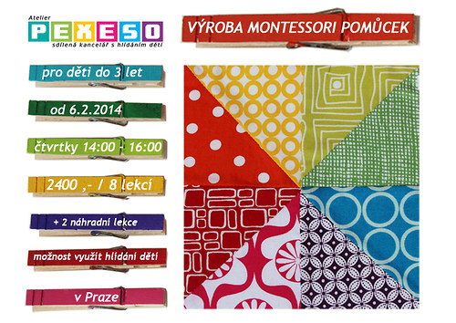 Cyklus workshopů výroby montessori pomůcek