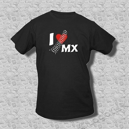 Pánské moto tričko I Love MX