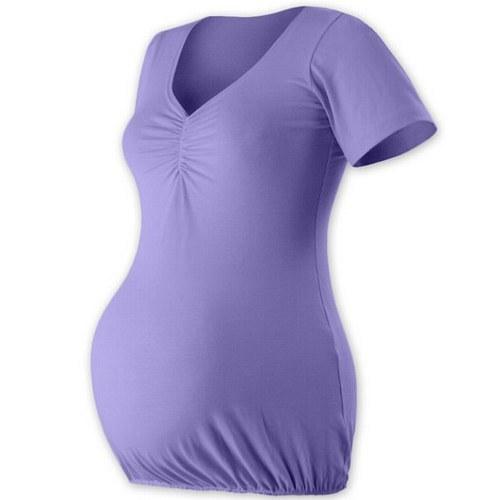 Těhotenská tunika VERONIKA- šeříková