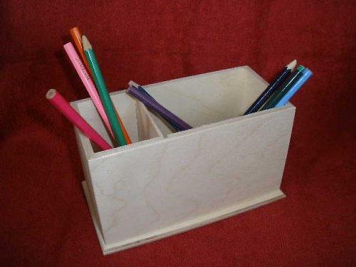 Stojánek na tužky 2v1 překližka-v.10x17x8cm